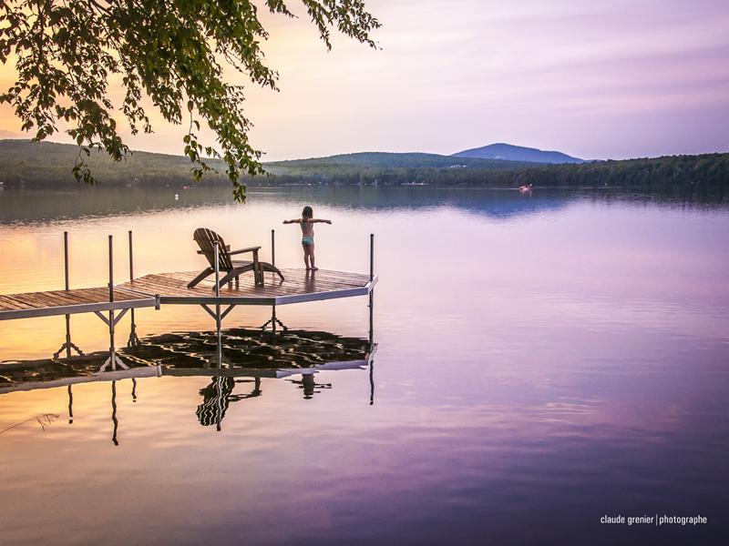 Lac Trois-Milles © Claude Grenier
