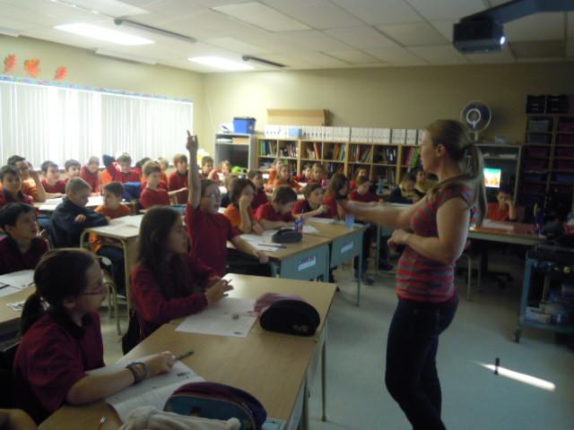 École les Deux Rives, 2014